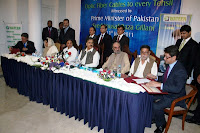signing ceremony of USF and Wateen: Balochistan