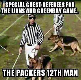 special%2Bguest%2Breferees%2Bfor%2Bthe%2Blions%2Band%2Bgreenbay%2Bgame...%2BThe%2Bpackers%2B12th%2Bman 22 meme internet special guest referees for the lions and