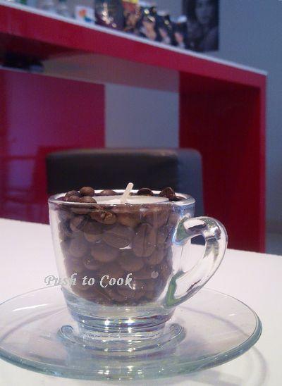 Итальянская кофейня. Вот такой подсвечник