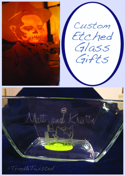 DIY Custom Etched Glass Gifts for Weddings: Part Two | Tried & Twisted