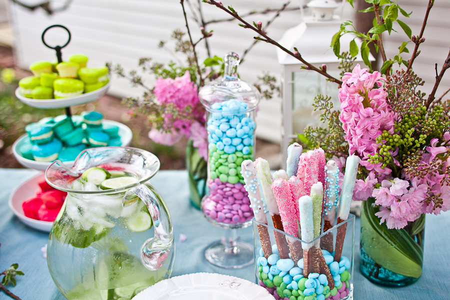 spring bridal shower shoot celebrations at home