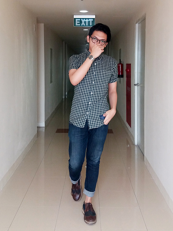 Ravi Agustiana Indonesian Fashion Blogger