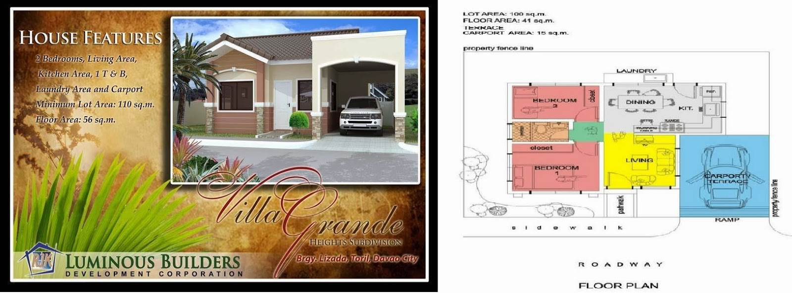 Villa Grande Heights, Toril, Davao City, Lucerne Model
