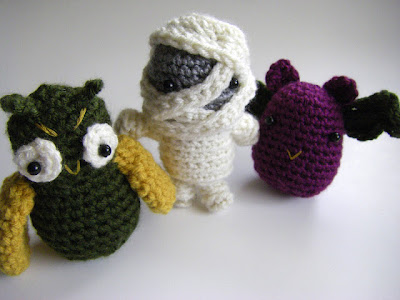 free amigurumi halloween crochet patterns