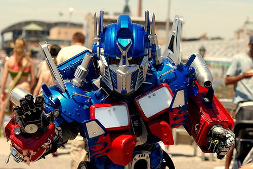 optimus prime cosplay