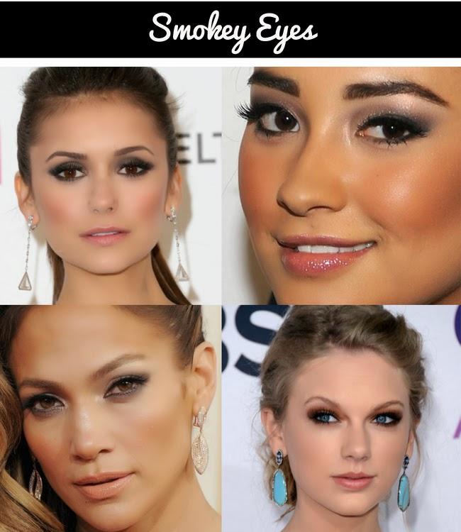 smokey eyes, daniela pires, makeup, maquilhagem para festa, party makeup, celebrity makeup, olhos esfumados