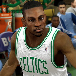 NBA 2K13 Jeff Green Cyberface Patch