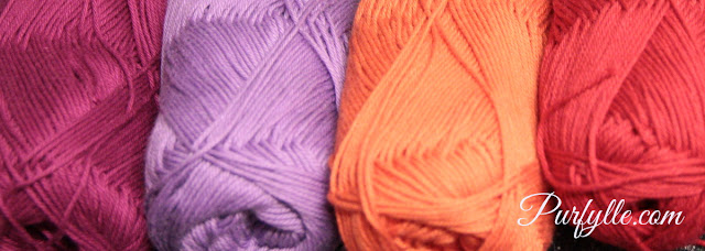 Yummy Yarn perfect for small crochet motifs - Gelato by Moda Vera