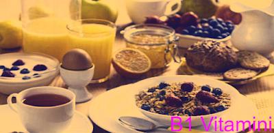 B1 vitamini eksikliği, ne işe yarar, nelerde var, nedir? B1 vitamini hakkında kapsamlı bilgi veren bilimsel makale