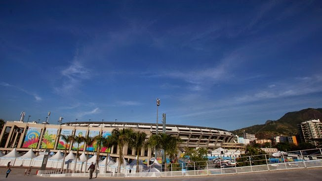 Stadium of Estadio do Maracana 2014 FIFA WORLD CUP