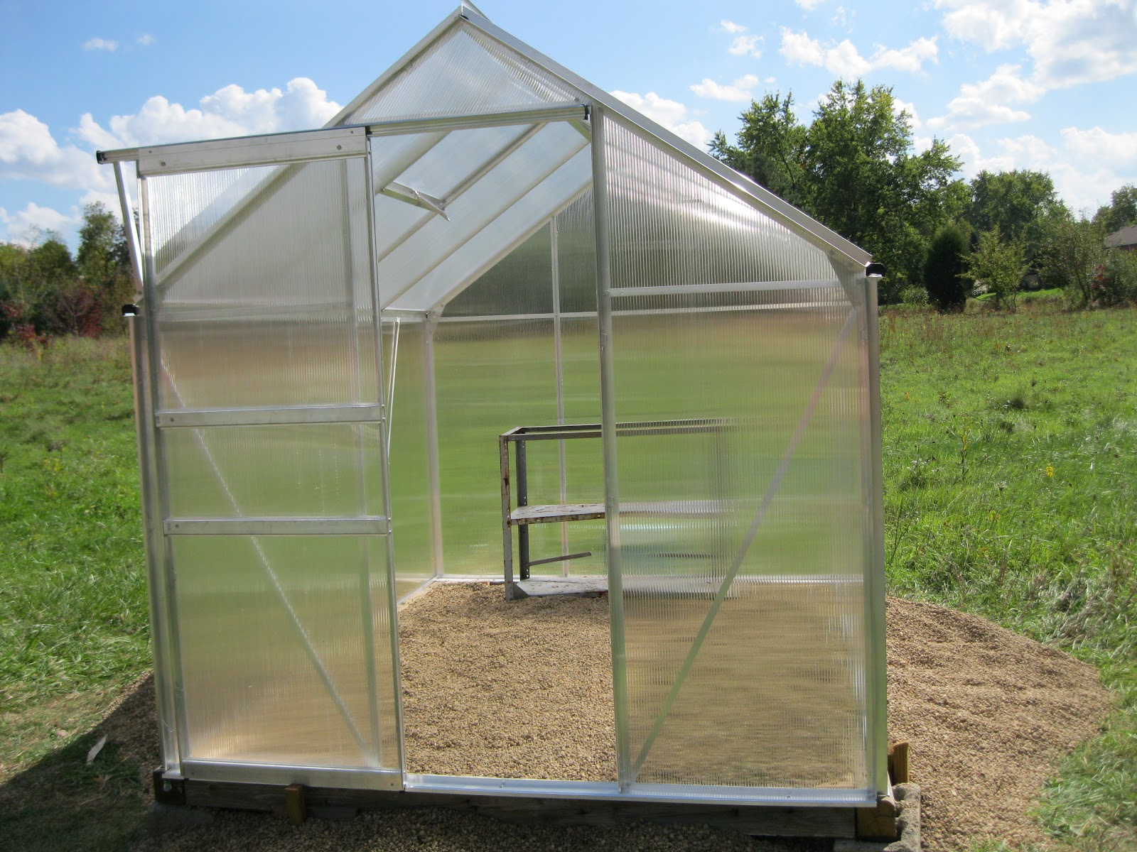 Harbor Freight 6x8 Greenhouse : Amy s harvest harbor freight greenhouse