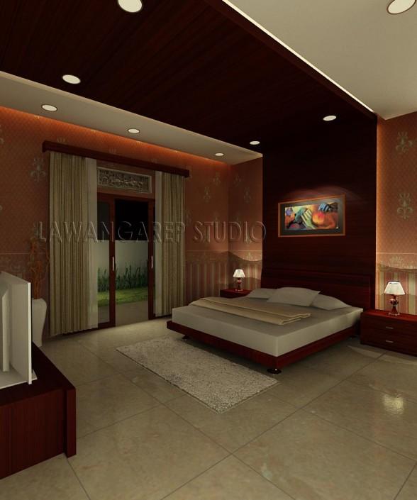 Interior kamar tidur utama Terbaru