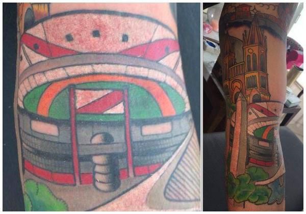 Tatuaje de Fernando Cavenaghi