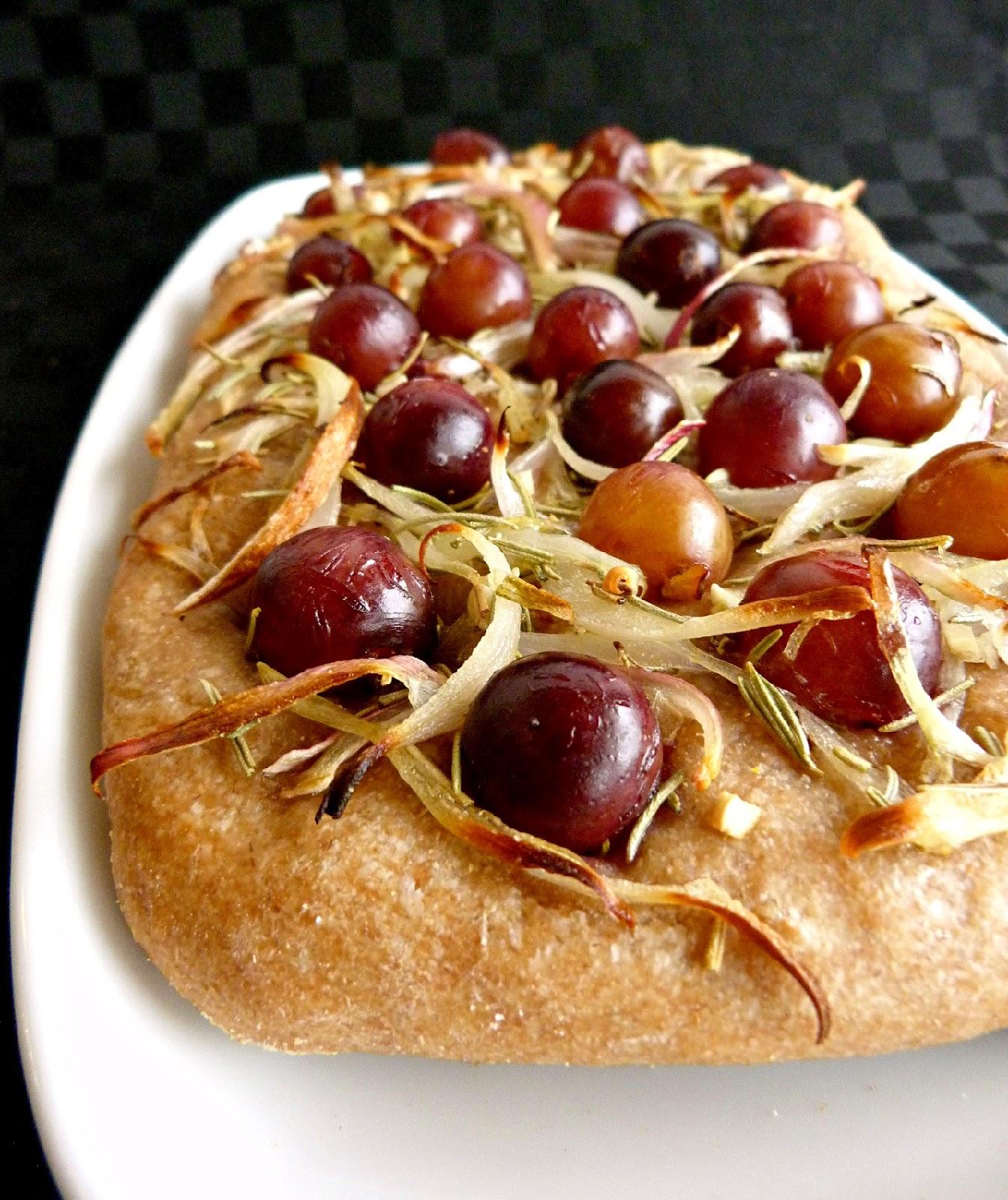 focaccia bread southern style focaccia grape focaccia with rosemary ...