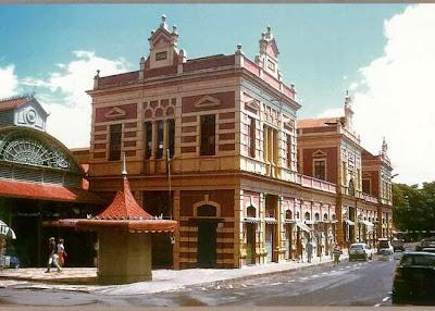 Mercado Municipal de Manaos, Brasil