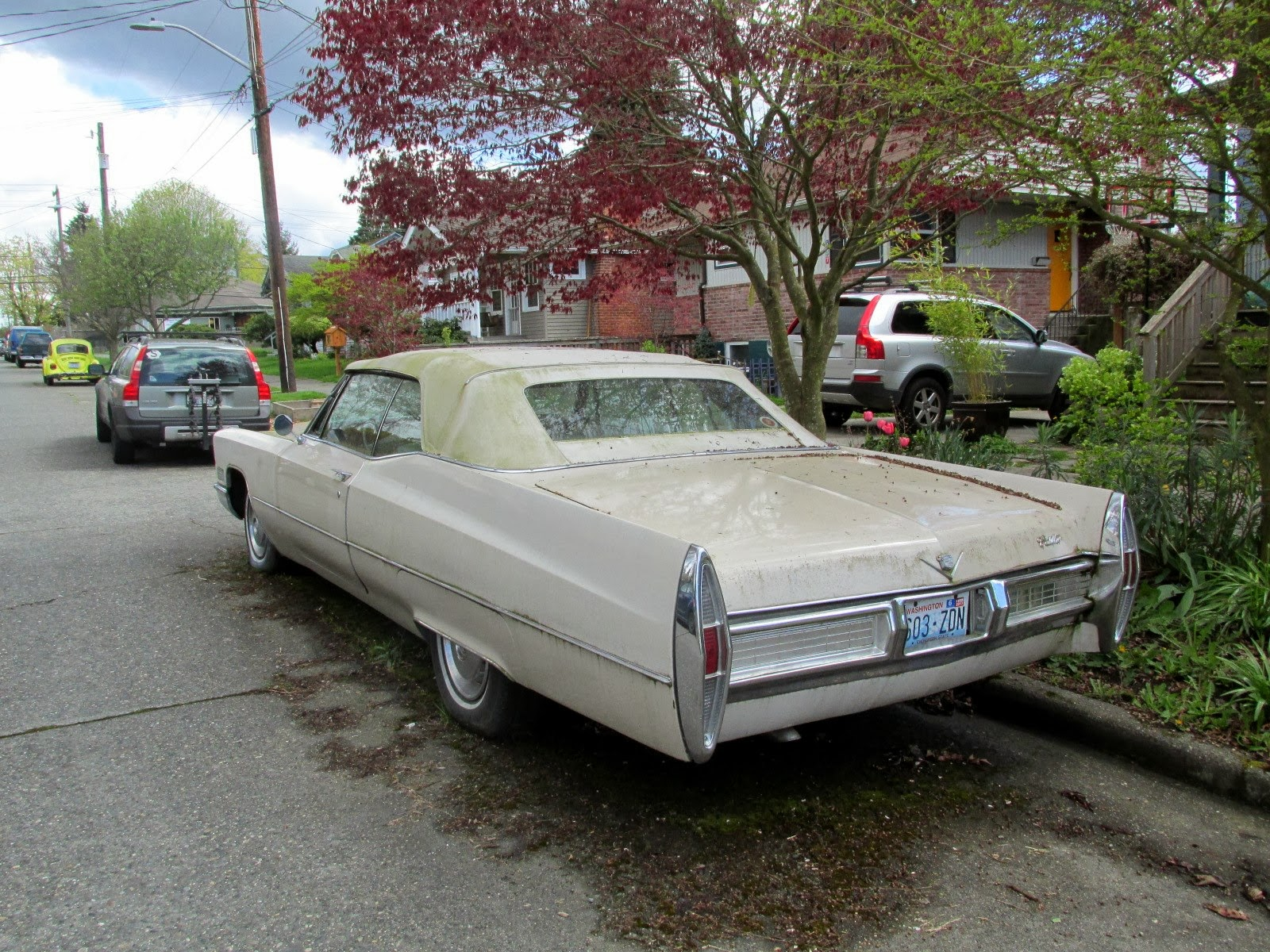seattle 39 s classics 1967 cadillac deville convertible. Cars Review. Best American Auto & Cars Review