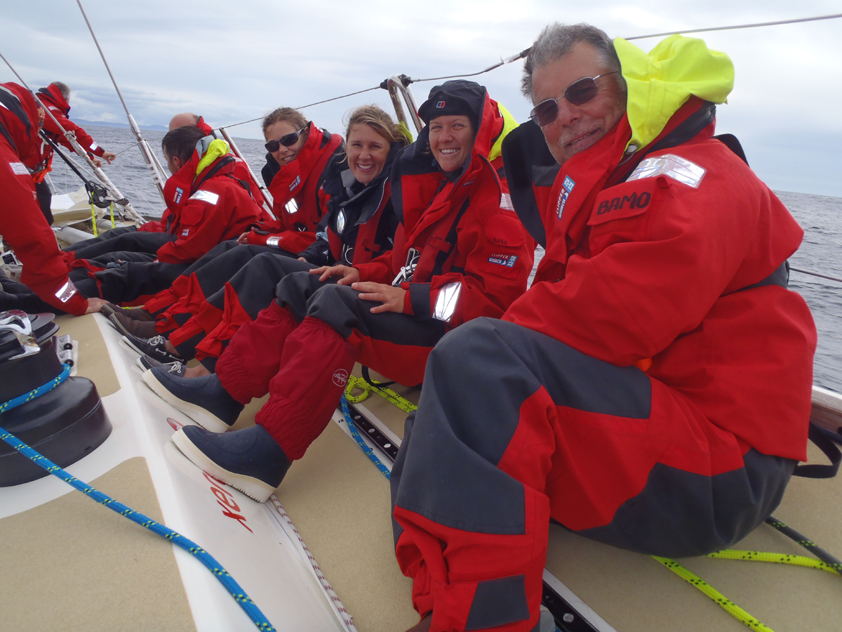 Sleep deprivation is really tough – on a racing yacht, you are expected to ...