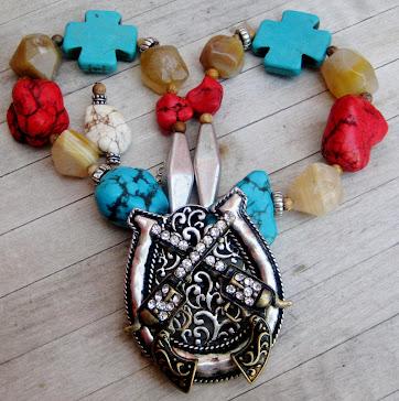 Cowgirls Untamed Necklace