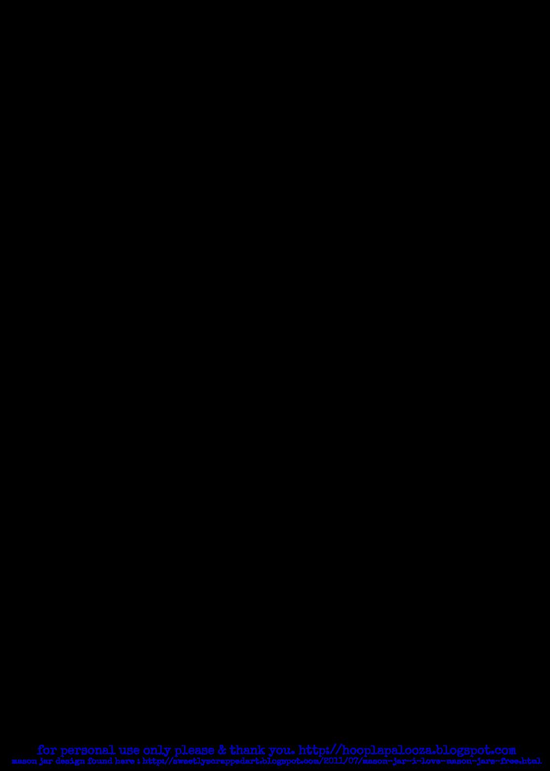 Mason Jar Outline The Original Mason Jar With Handle Outline