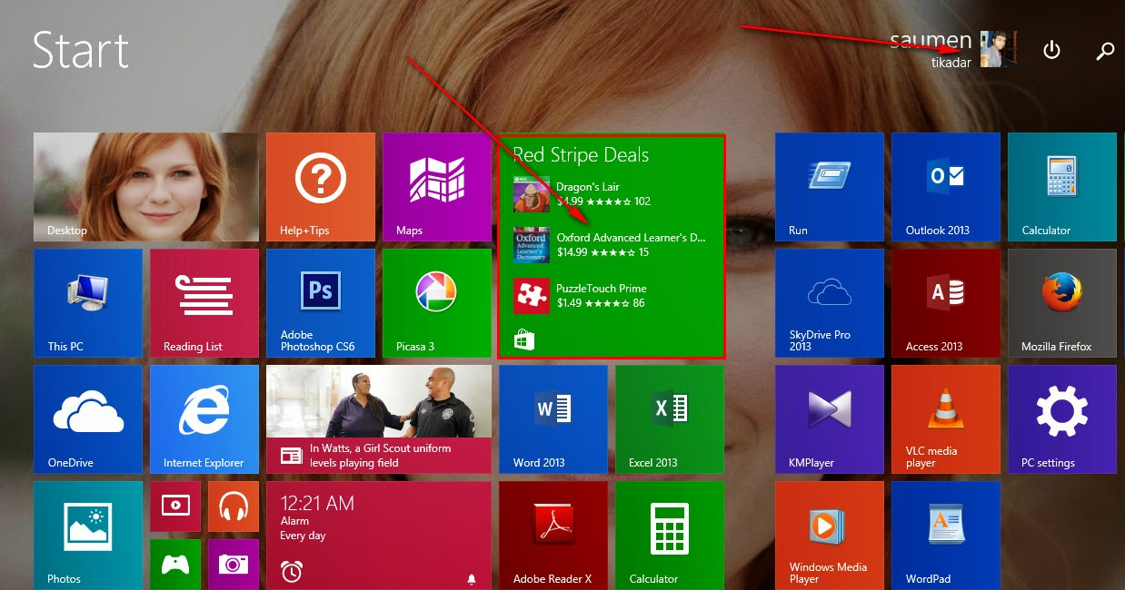 How to Install apps From Store
