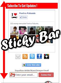 Sticky Bar