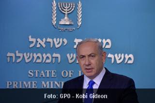 """Netanyahu: não vamos transferir nem  """"um metro"""" de terra para os palestinos"""