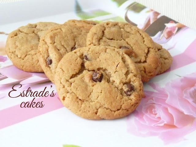 Receta de galletas con chocolate y crema de cacahuete 1
