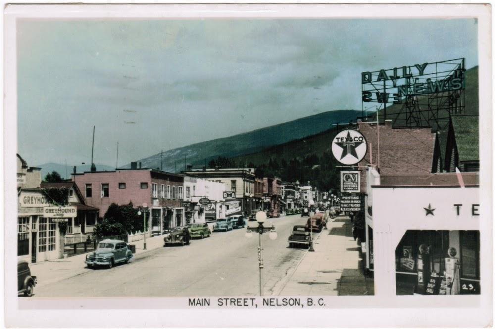Nelson, BC postcard