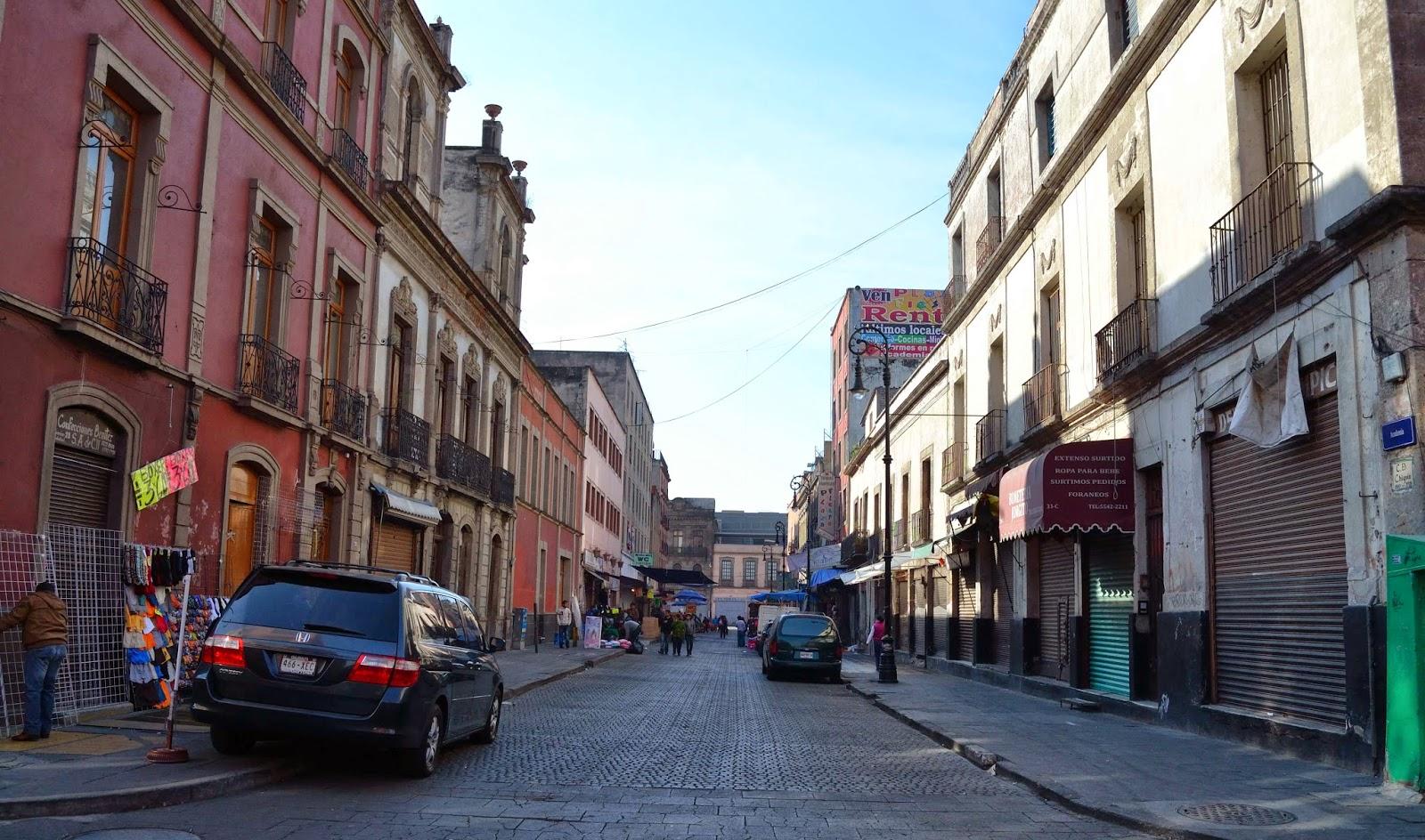 La antigua y casi invisible calle de Chiquis, en el Centro Histórico