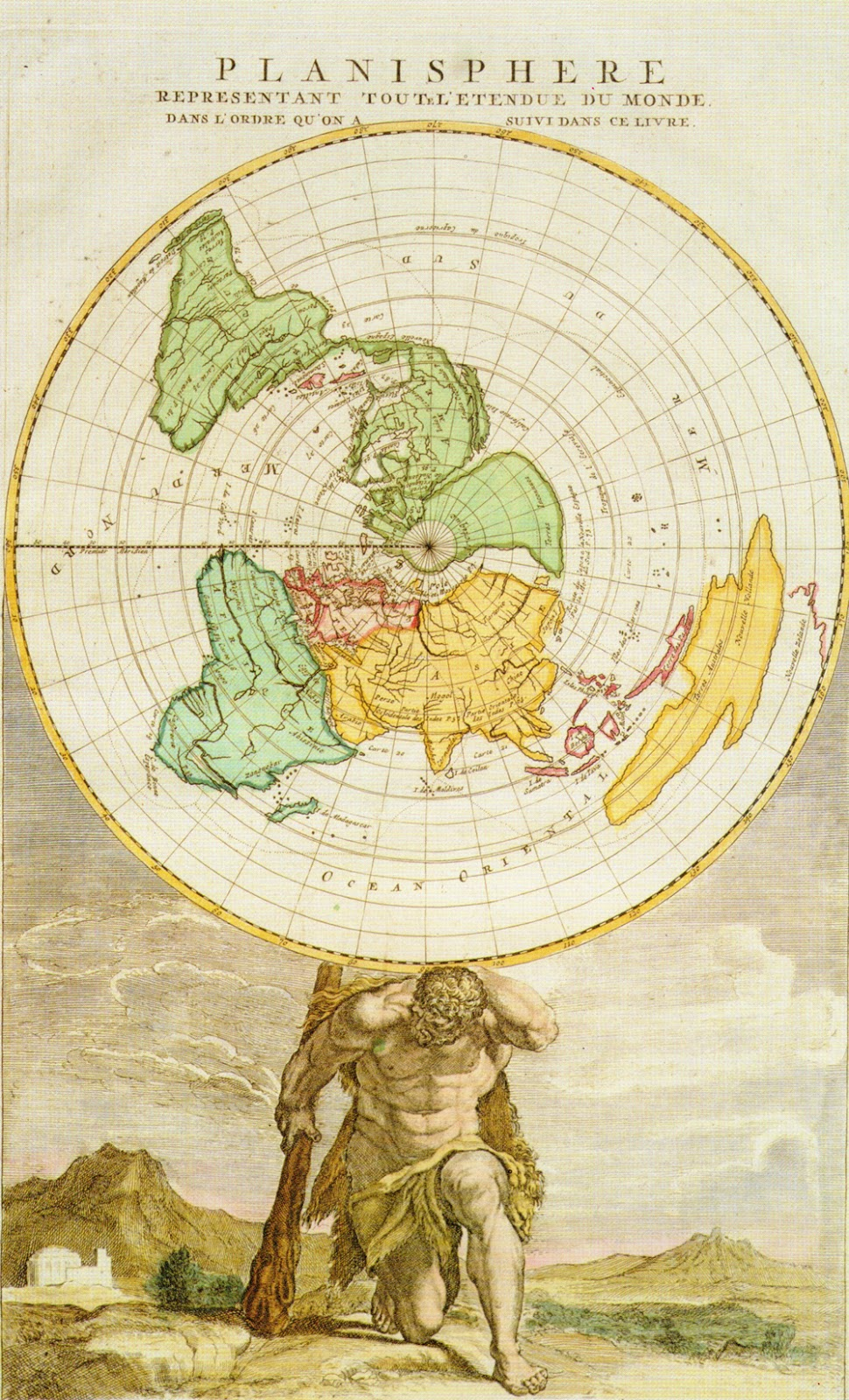 Birkhalls miscellany flat earth the history of the ball part vii the following map was created by johannes ruysch and again shows a disc shaped earth once again though i dont think it was the intention of the mapmaker gumiabroncs Choice Image
