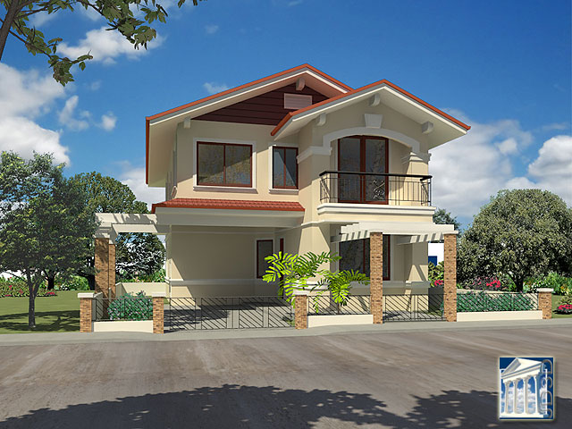 House Design Philippines On Simple 2 Story House With Rooftop Designs
