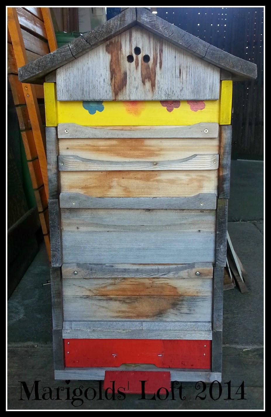 Handmade Beehive