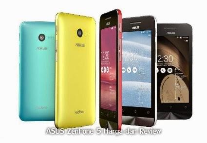 ASUS ZenFone 5 Harga dan Review