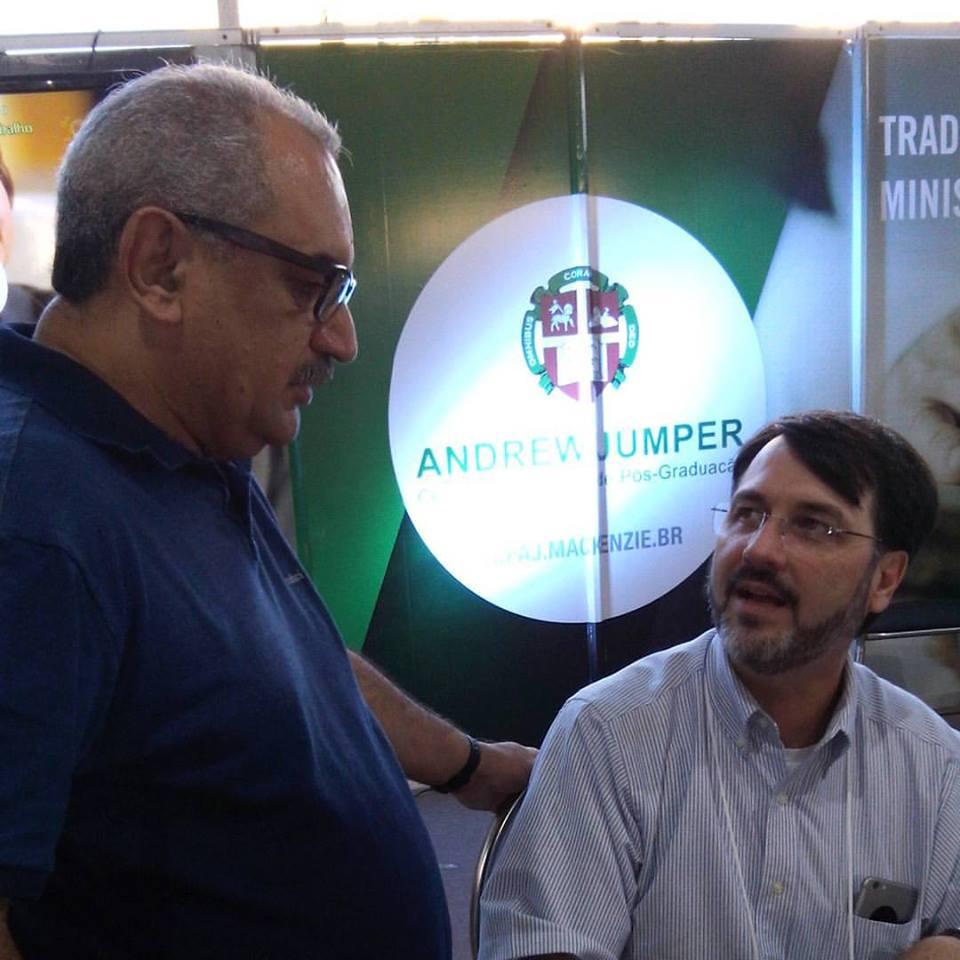 Eu e o Rev. Mauro Meister