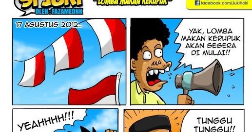 Gambar Lucu, cerita lucu, Komik si Juki|Goresan Hati