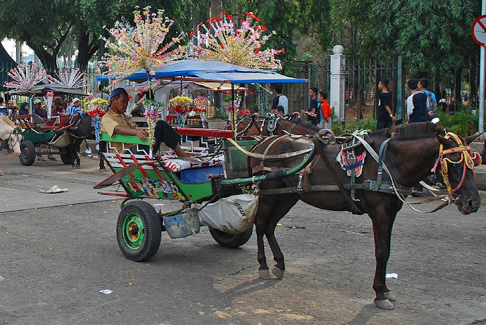 Carroza en Yakarta