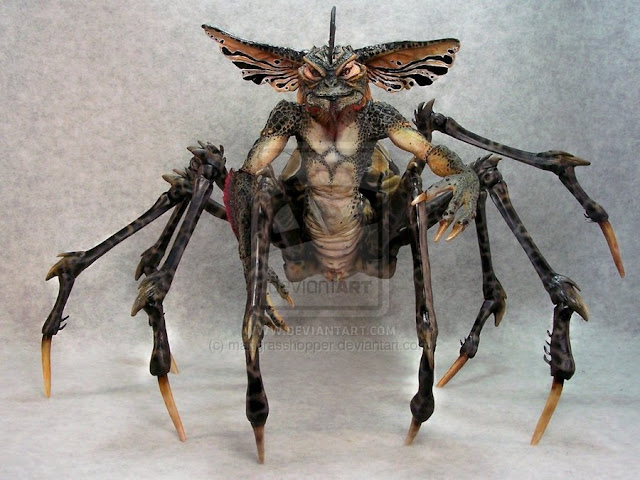 Spider Gremlin por mangrasshopper