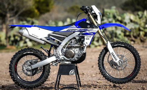 Yamaha WR450F 2016 test