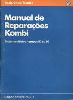 MANUAL DE REPARAÇÕES KOMBI 1987(SISTEMA ELÉTRICO)