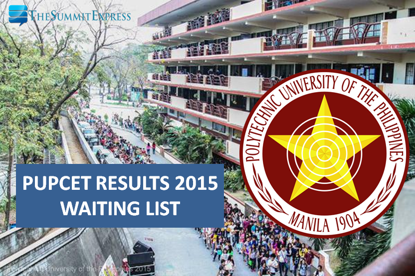 PUP releases PUPCET 2015 Results (Waiting List) First Batch