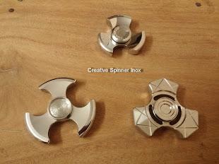 Con Quay Inox 304 và 316 Creative Spinner Siêu Bền Siêu Lâu Trên 8 Phút