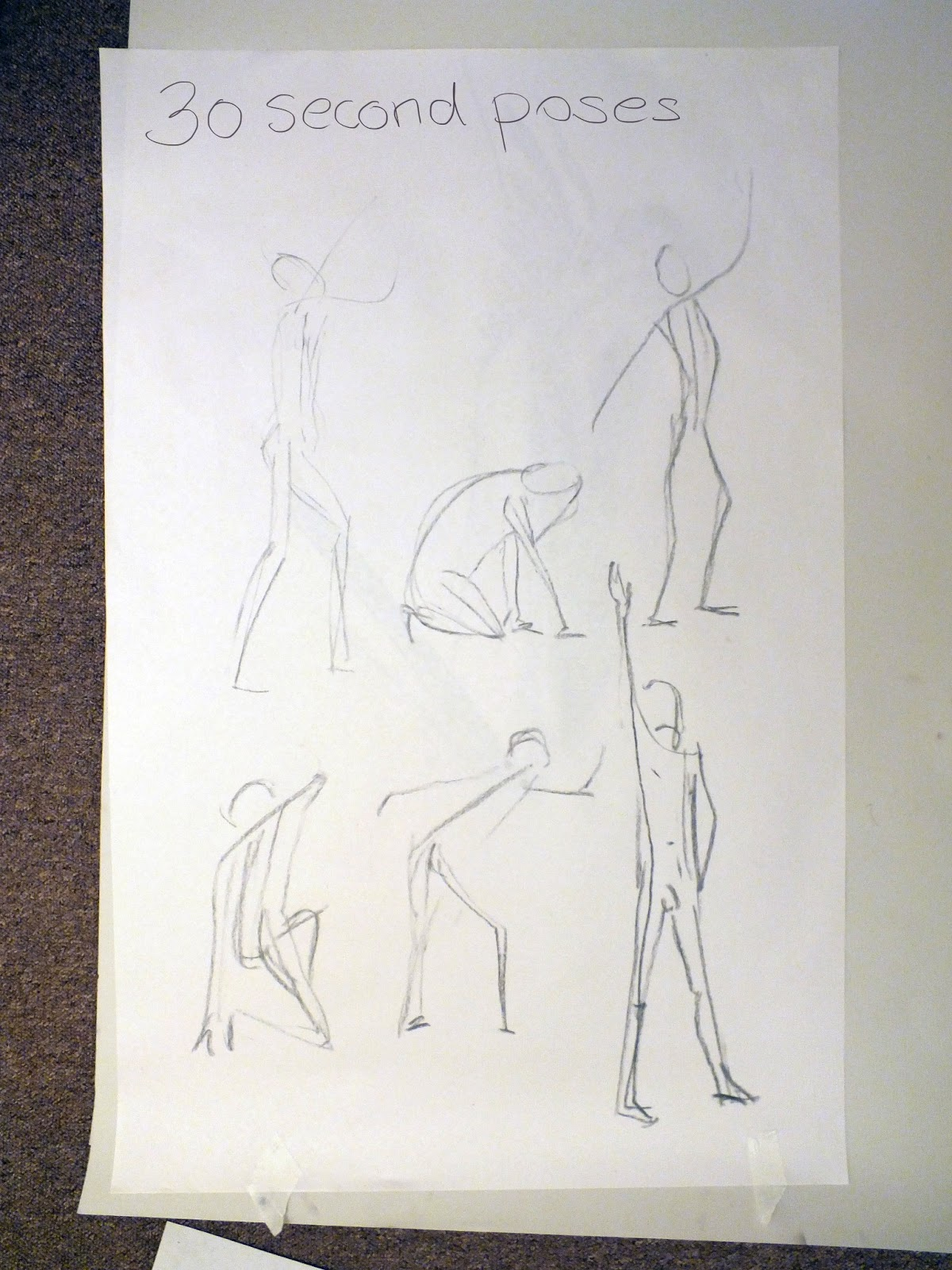 The Making Of Chickenfox Life Drawing Male Figure