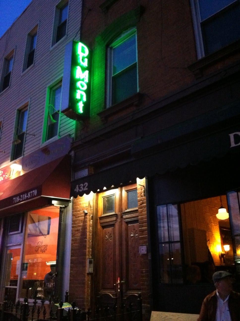 Restaurant review dumont brooklyn is cookin 39 for Domont restaurant