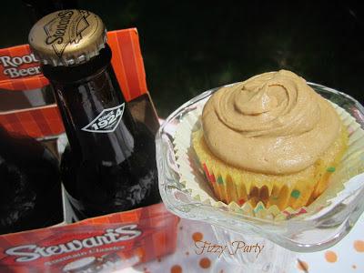 Root beer-cupcakes