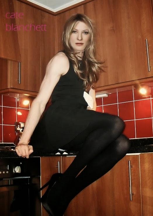 Celebrity Transvestite Fakes: Cate Blanchett
