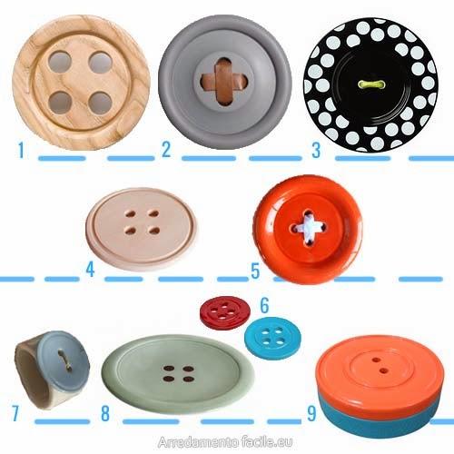 Attacca bottone arredamento facile - Ikea tappeto bottoni ...