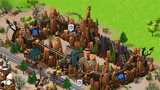 Coasterville Wild West Mine Ride Screen