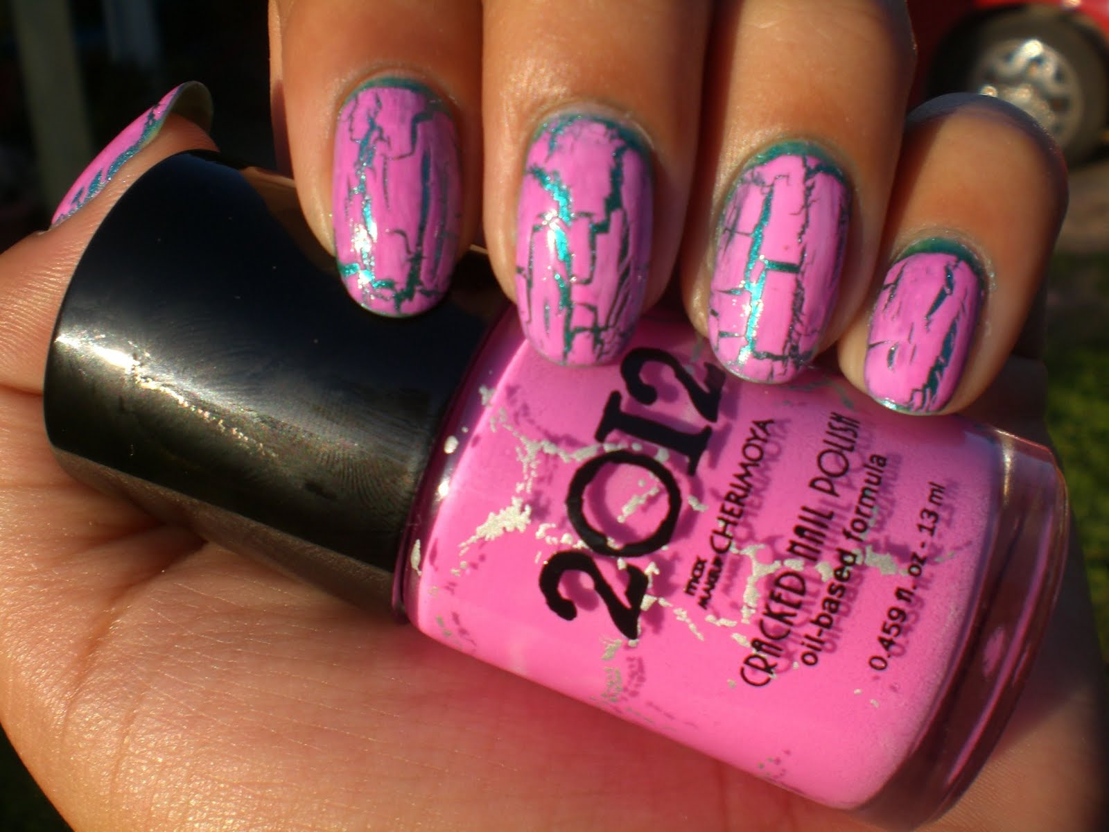 Oh Me! Oh My!: Cracked Nail Polish