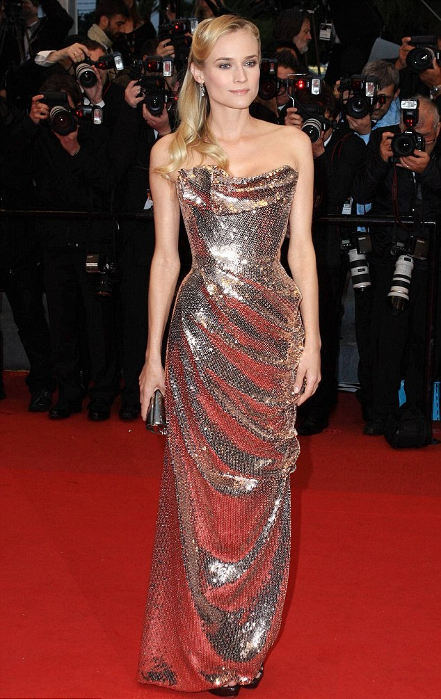 GoS: Stars shine in gold trend at Cannes film festival