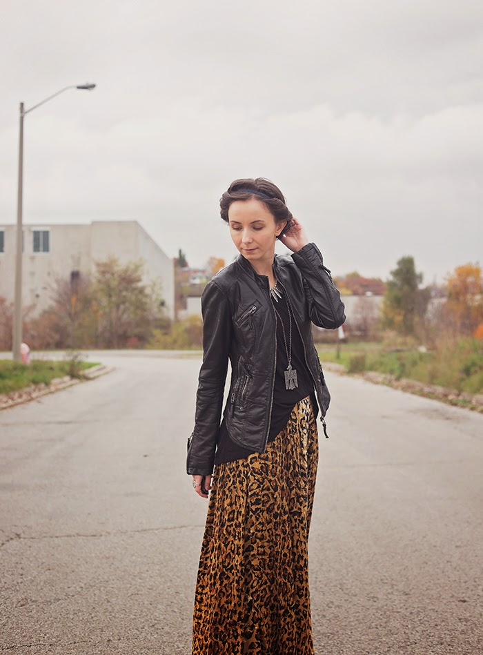 Leopard-Maxi-Leather